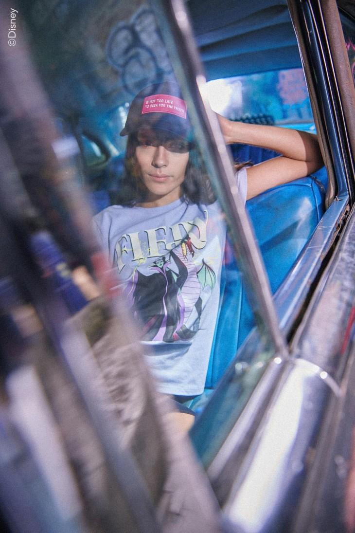 Camiseta estampada de Malefica.