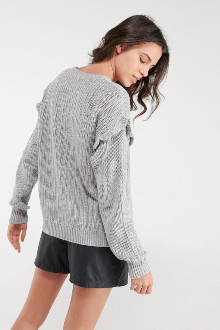 Suéter arandela a rayas