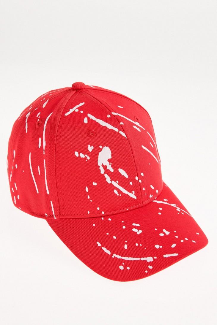 Gorra con diseño