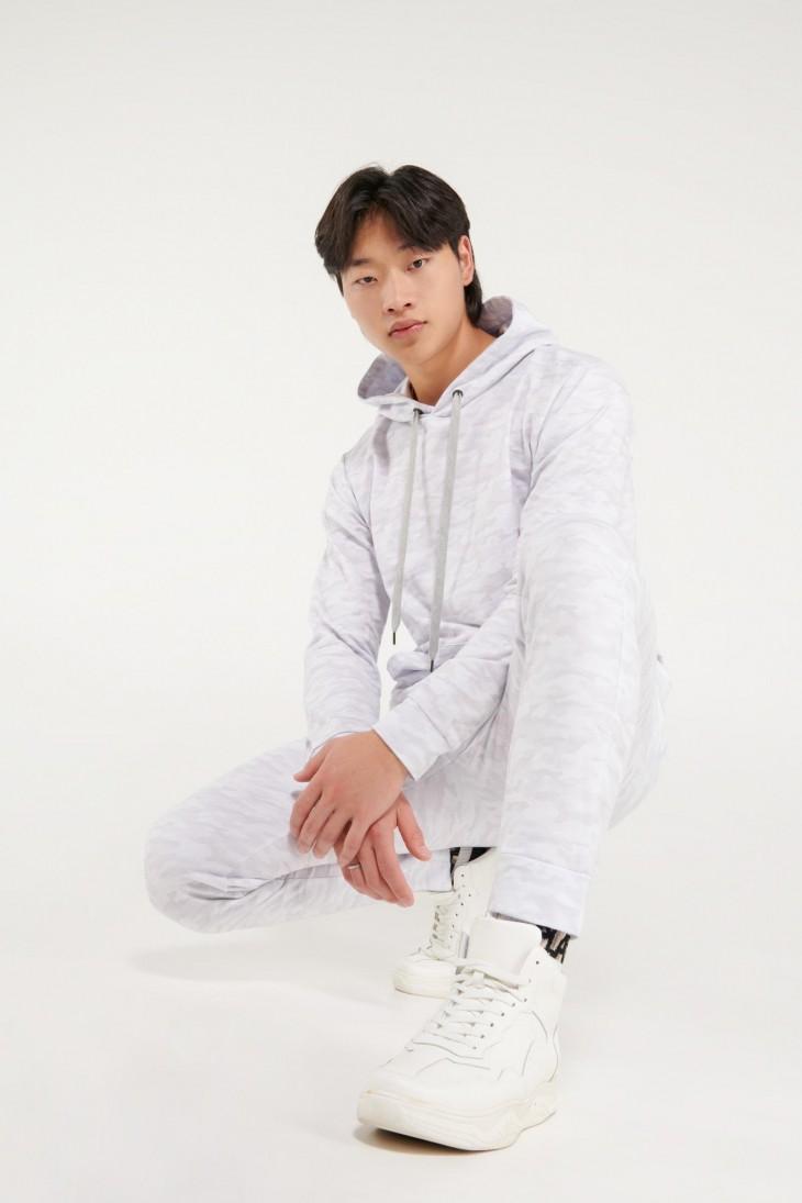 Jogger moda estampado
